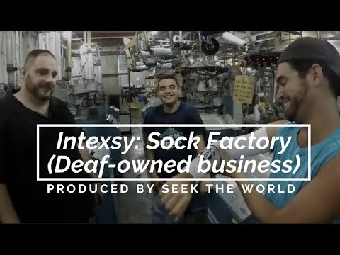 Intexsy: Sock Factory (Deaf-owned business)