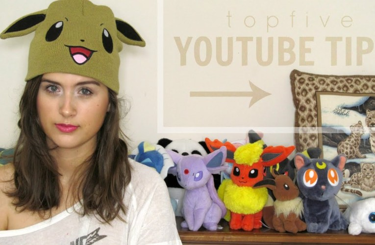 Top 5 Tips| Being a YouTuber