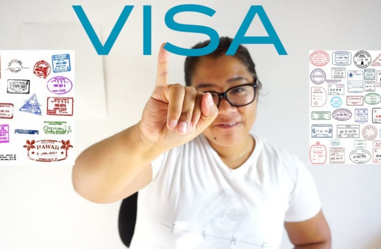 Things to know about Visas