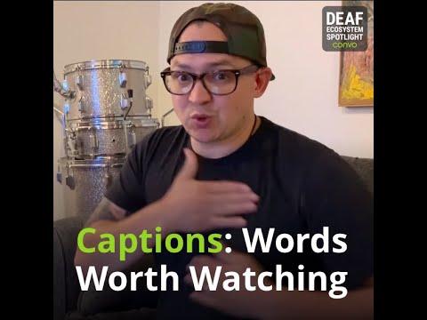 Deaf Ecosystem Spotlight – ASLcaptions.com