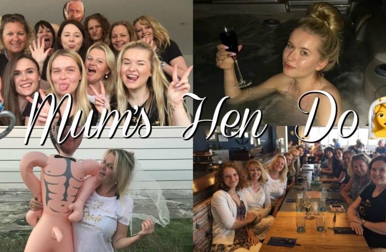 BEST WEEKEND FOR MUM'S HEN DO | Jazzy Vlogs
