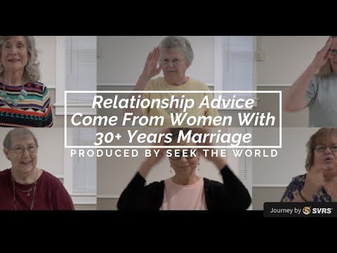 Relationship Advice Come From Women With 30+ Years Marriage