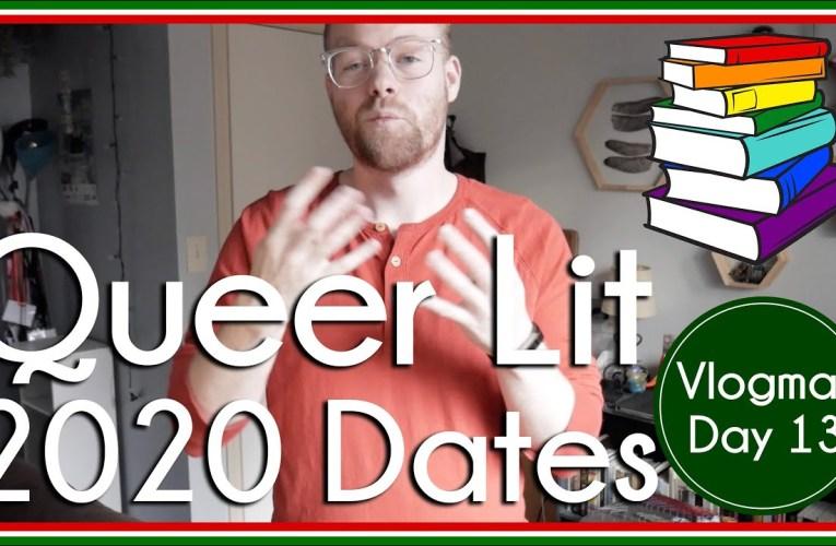 Queer Lit Readathon 2020 Dates   Vlogmas