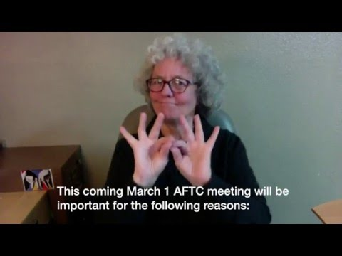AFTC Feb2 UPDATE and INVITE to Mar1 mtg #takebackCSD