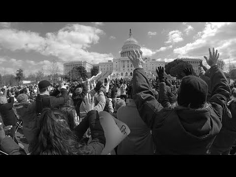 National Deaf Grassroots Movement Rally at U.S. Capitol in Washington, D.C.