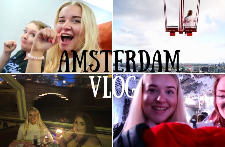 Hearing and Deaf BESTIES explore AMSTERDAM!!