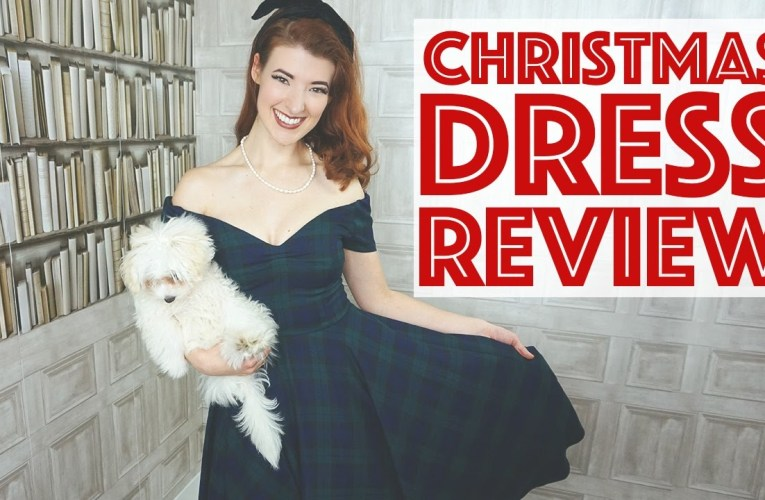 The Best Retro Christmas Dress!