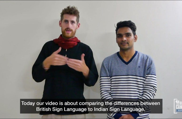 "Learning ""Greetings"" and ""Everyday Basic Questions"" – British Sign Language to Indian Sign Language"