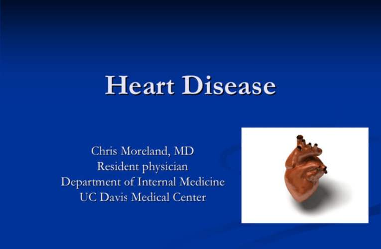 Heart Disease Workshop with Dr. Moreland