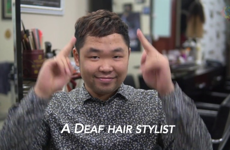 A Deaf Vietnamese hairstylist | His Story.