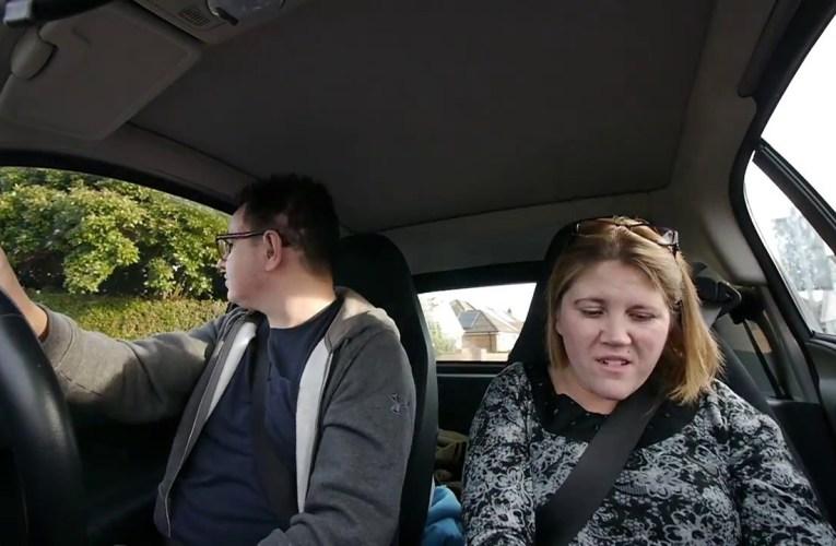 Car Running On Empty!   Deaf vlog disability subtitles cc accessibility