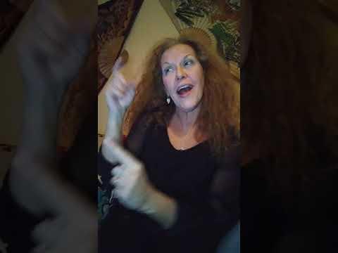 Underneath the Tree in #ASL with #deaftalent Jennifer Delora