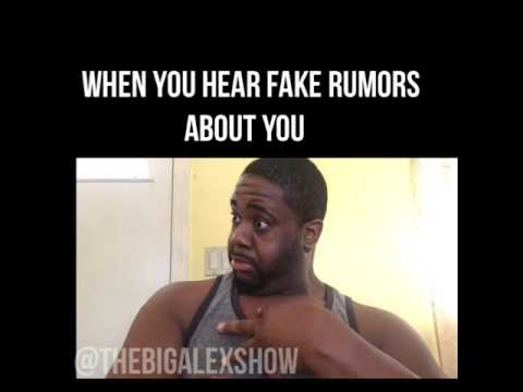 When you hear fake rumors about yourself #Deaftalent #thebigalexshow