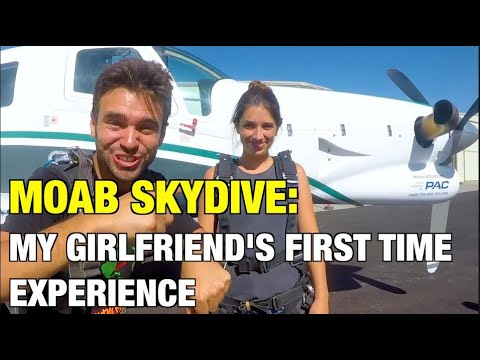 My Girlfriend's First Time Skydiving Experience!