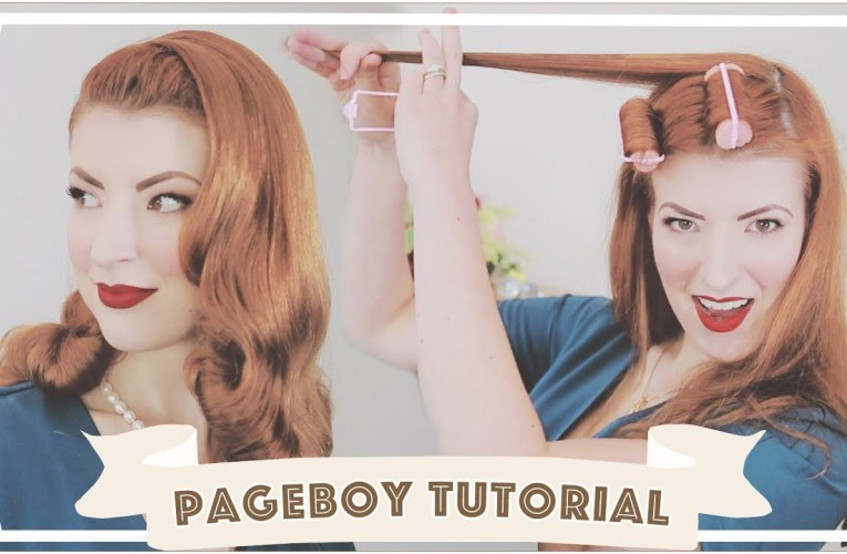 Essentially drunk hair rolling… // Ridiculously Easy Vintage Hair Tutorial [CC]