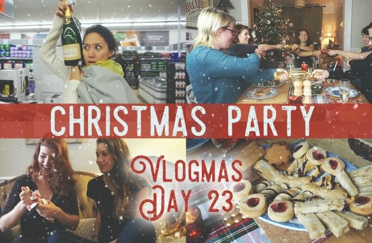 Vlogmas Day 23: (Lesbian) Christmas Party!