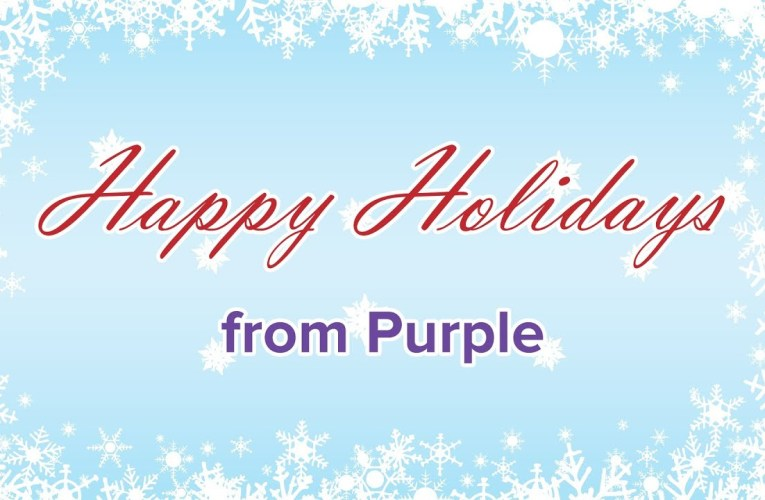 Happy Holidays from Purple – 2013