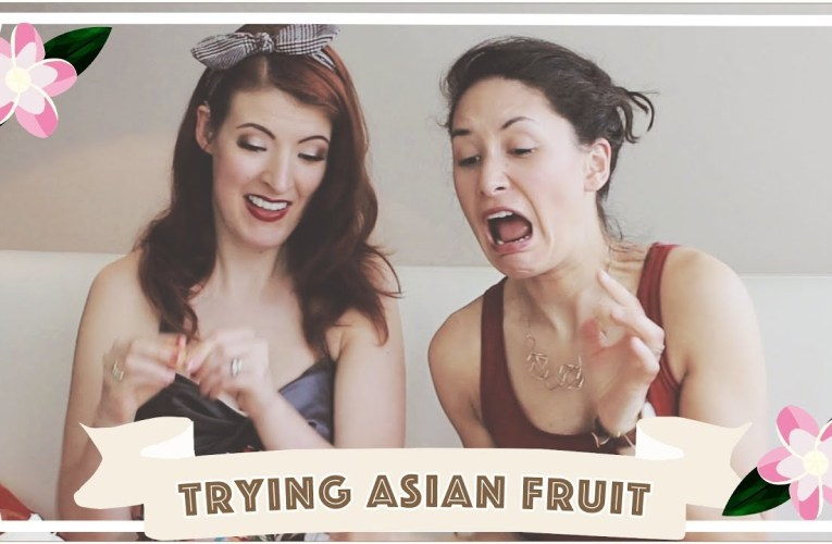 Trying Weird Asian Fruit // Malaysia Travel Vlog