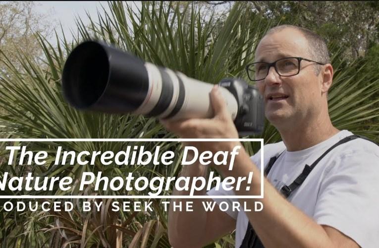 Michael Stultz – The Incredible Deaf Nature Photographer!