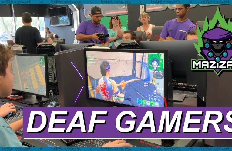 Taking You To The First Deaf Gaming Convention (American Sign Language)   Rikki Poynter