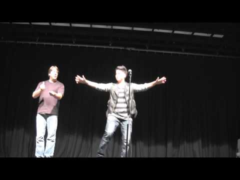 Two codas in comedy – One hands/One voice – Lianna Carrera and Keith Wann
