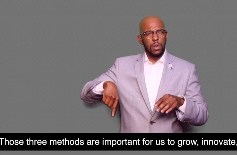 MCDHH NEW Deaf Community Advocate: Christopher D. Johnson