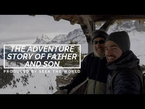 The Adventure Story of Father and Son in Jungfrau, Switzerland!