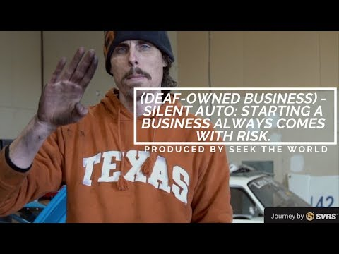Starting A Business Always Comes With Risk – Auto Silent (Deaf-Owned Business)