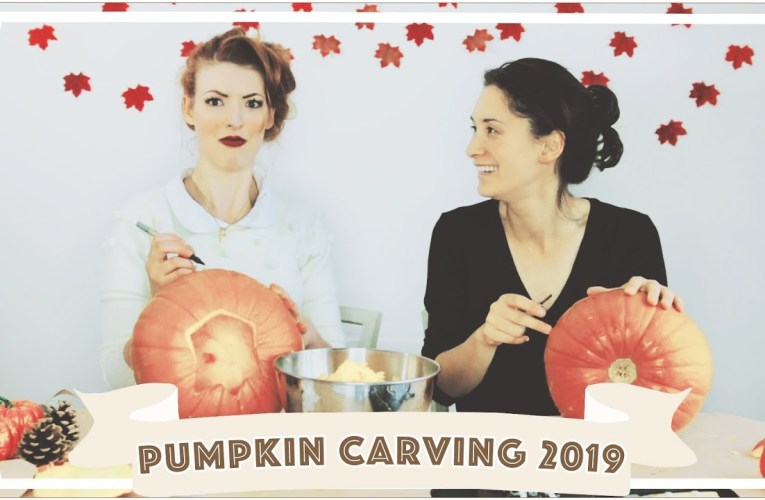 Pumpkin Carving Challenge 2019 // Jessie and Claud [CC]
