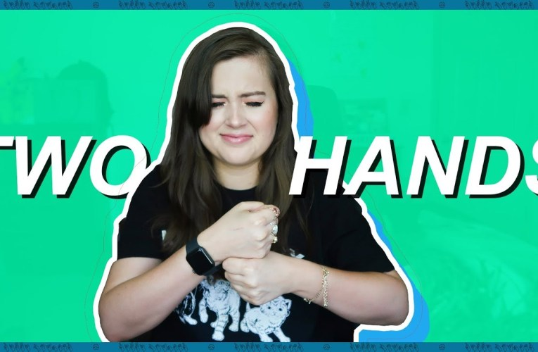 Learning British Sign Language For The First Time (American Sign Language)   Rikki Poynter