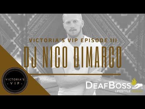 Victoria's VIP Interview with DJ Nico DiMarco | Deaf Talent | DeafBoss
