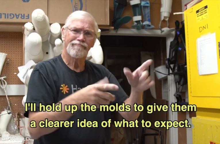 Robert Morgan is a Deaf Prosthetics Maker!