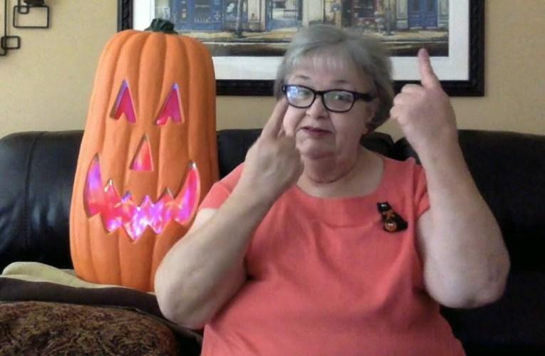 Happy Halloween from Alder Springs Deaf & Blind Community
