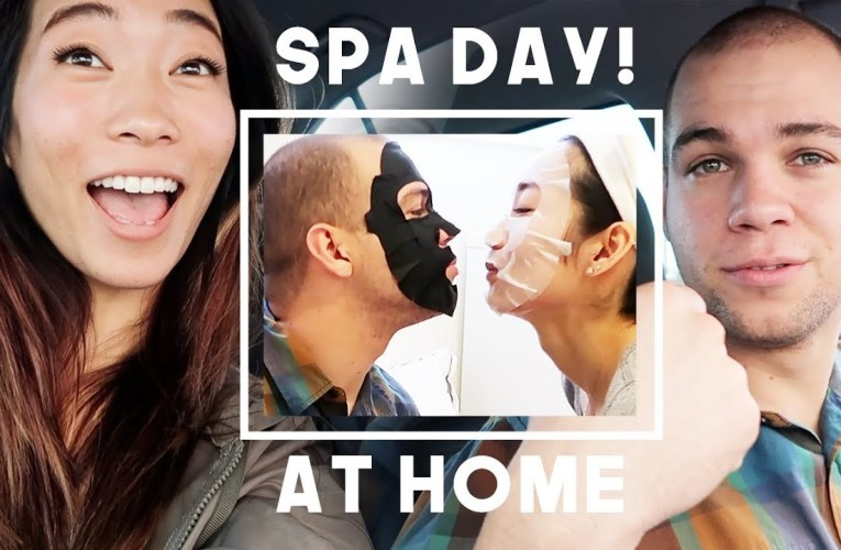 AT HOME SPA DAY WITH MY DEAF BOYFRIEND