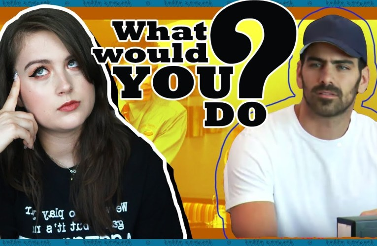 Deaf Person Reacts To Deaf WHAT WOULD YOU DO? (ft. Nyle DiMarco)   Rikki Poynter