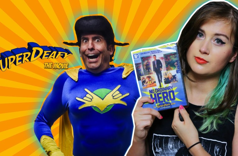 Why SuperDeafy Is An Important Movie For Deaf Children! + Giveaway