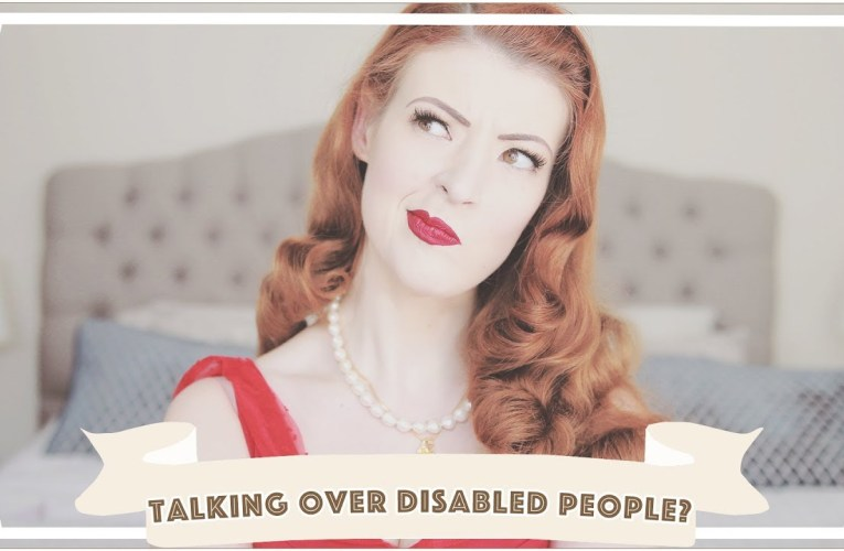 Is it ever OK to talk over a disabled person? [CC]