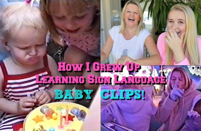 How I Grew Up Learning Sign Language – BABY CLIPS