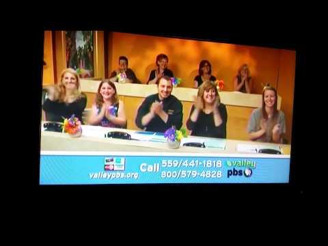 "Carol Riley, public television pledge drive during the ""Celtic Woman: Emerald"" program"