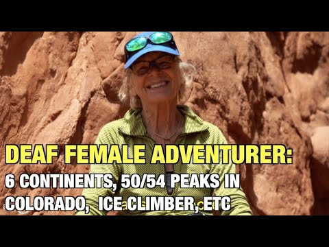 Deaf Female Adventurer: Jeanette Scheppach