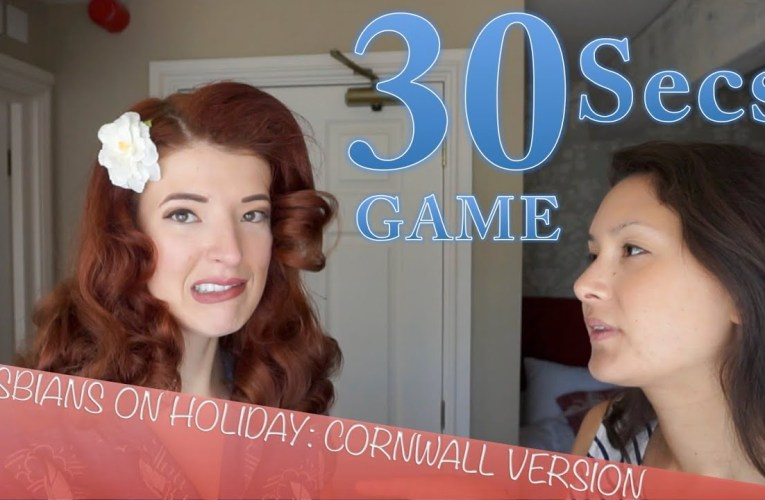 Lesbians on Holiday: Cornwall Game!