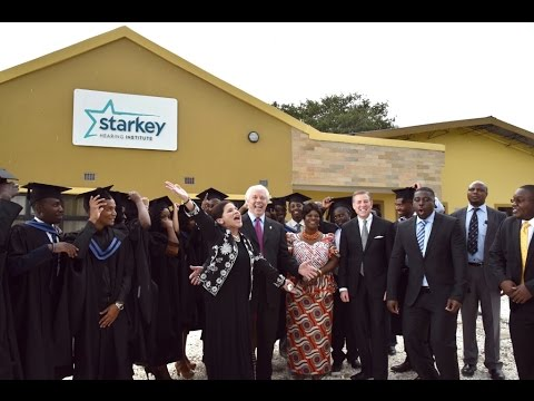 The first Starkey Hearing Institute Class Graduates