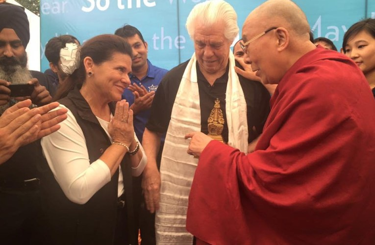 Dalai Lama graces his presence with Starkey Hearing Foundation in India