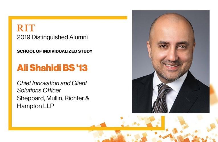 2019 SOIS Distinguished Alumnus: Ali Shahidi BS '13