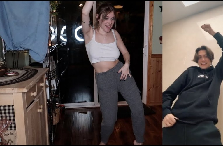 LEARNING TIK TOK DANCES AT 1AM
