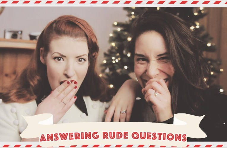 Answering your rudest questions! // Vlogmas 2019 Day 18