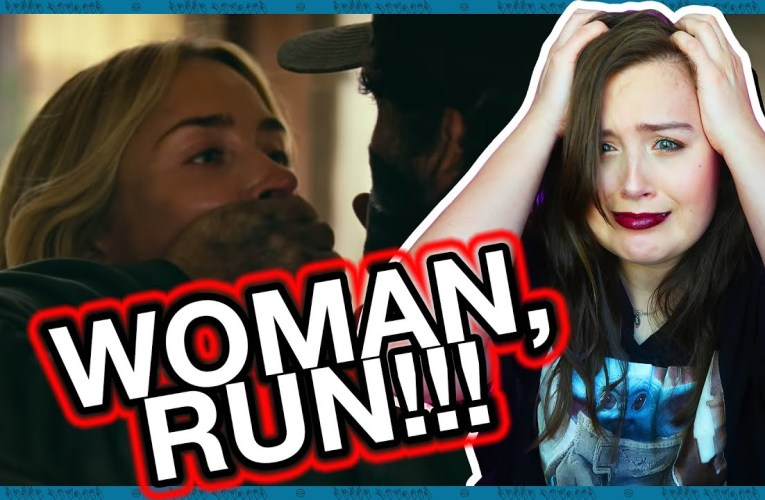 Deaf Person Reacts To A Quiet Place 2 Trailer   Rikki Poynter