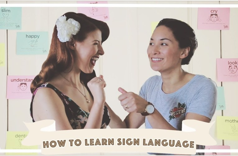 How To Learn Sign Language Quickly / Sketch [CC]
