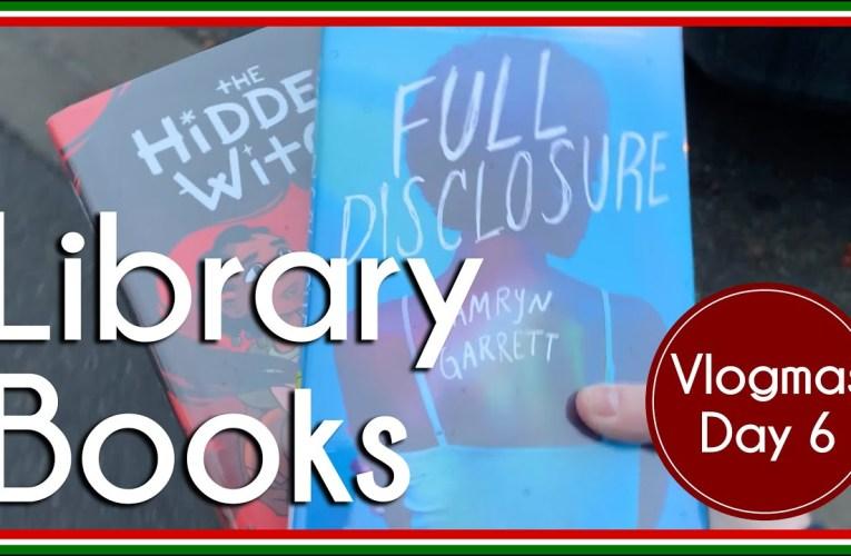 Library Books | Vlog | Vlogmas