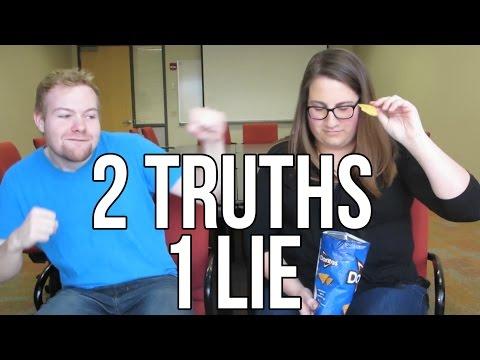 FIRST EVER COLLAB! 2 TRUTHS 1 LIE